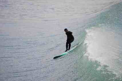 Sue SUP Surfing